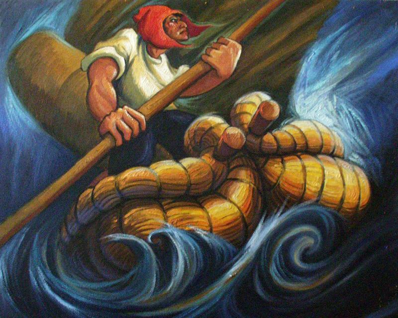 Balsero del Titicaca