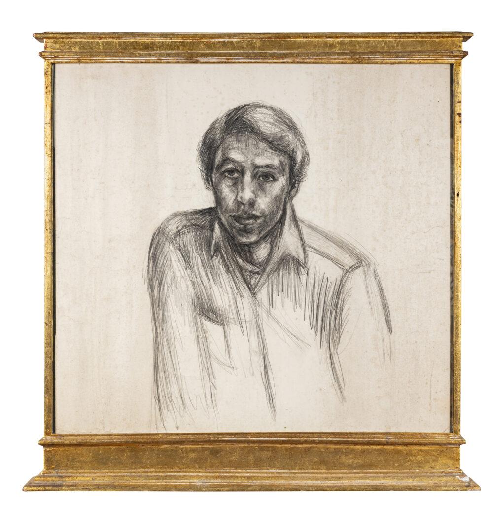 68.5 x 75 cm. Carboncillo sobre papel. C. 1965.
