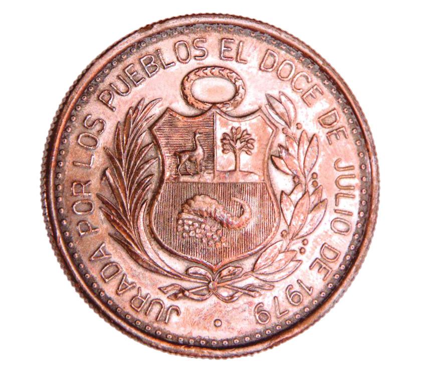Medalla por la Jura de la Constitución de 1979. Material: cobre. Dimensiones: 30 mm. Sancionada por la Asamblea Constituyente.