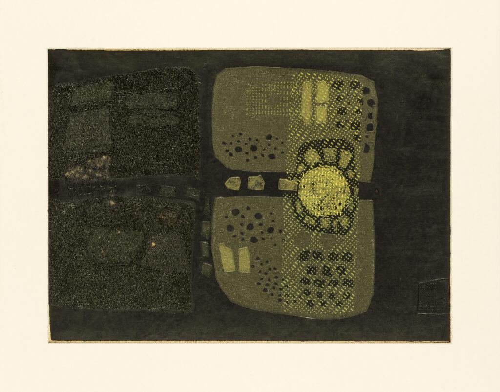 29.5 x 41 cm. Cartongrafía sobre papel. 1967.