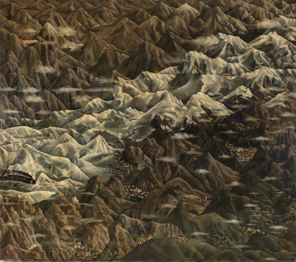 149.5 x 170 cm. Óleo sobre lienzo. C. 1980.