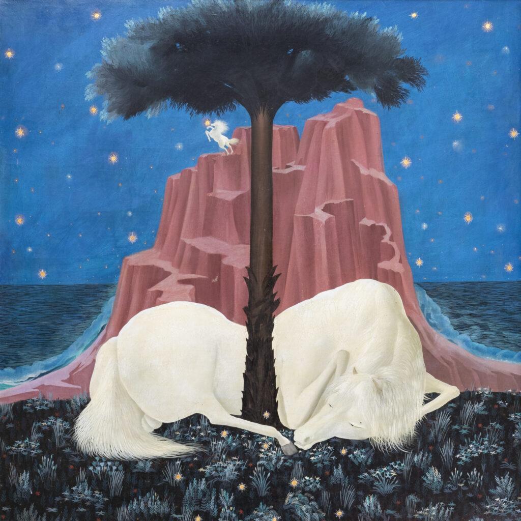 105 x 105 cm. Óleo sobre lienzo. C. 1986.