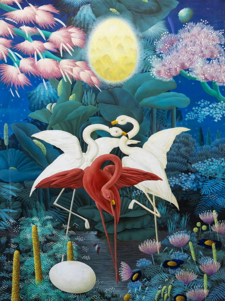 200 x 160 cm. Óleo sobre lienzo. 1993.